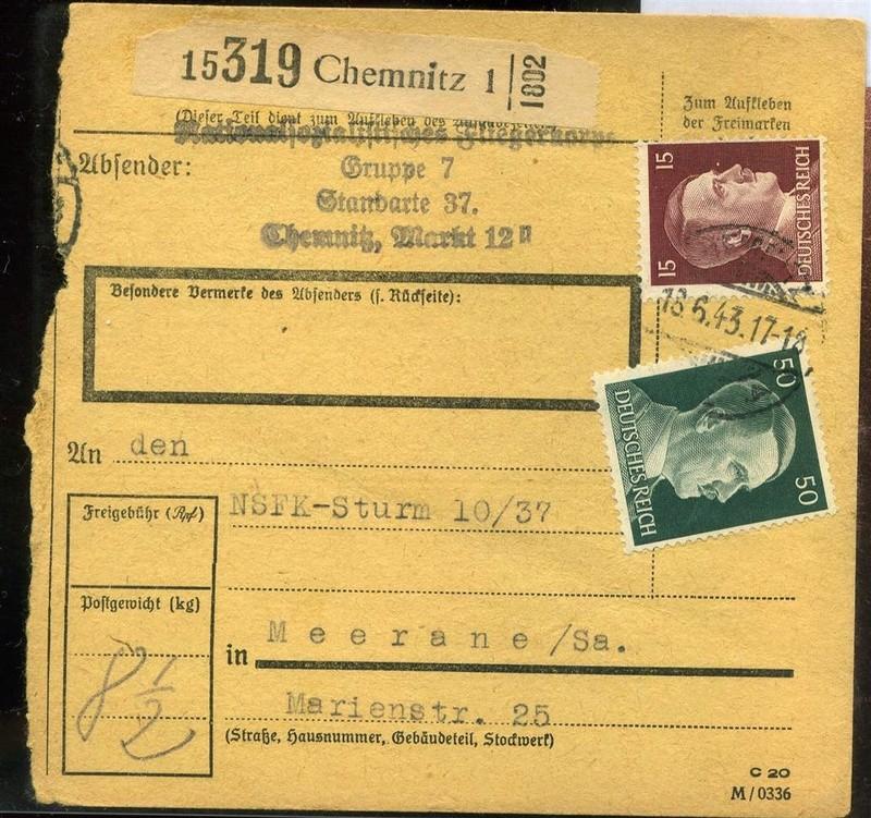 Document Chemnitz ville Allemand. 21712110
