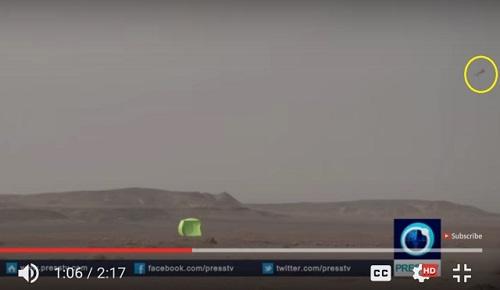 عرض صاروخ باليستي في طهران Zolfag11