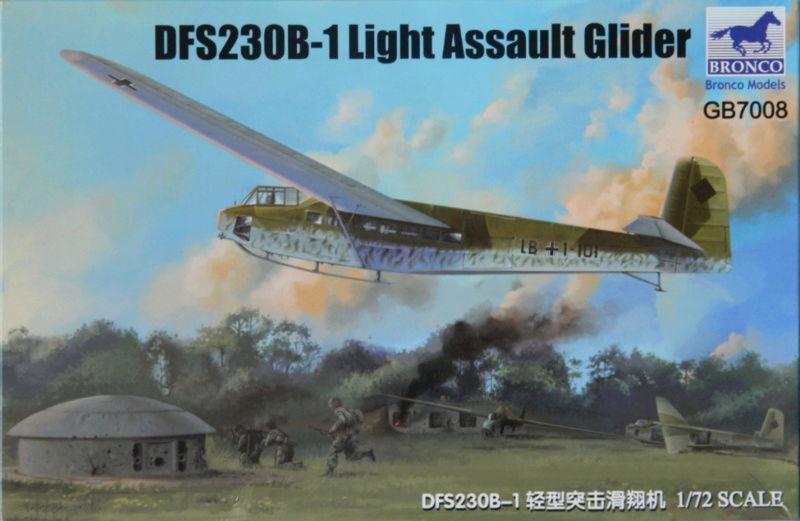 Lastensegler DFS-230 A1 -  Ende.  011