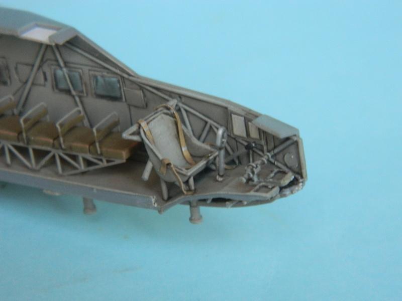 Lastensegler DFS-230 A1.  Bronco au 1/72. Ende. 1210