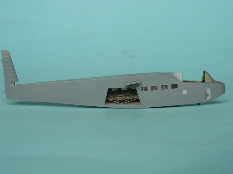 Lastensegler DFS-230 A1.  Bronco au 1/72. Ende. 1511