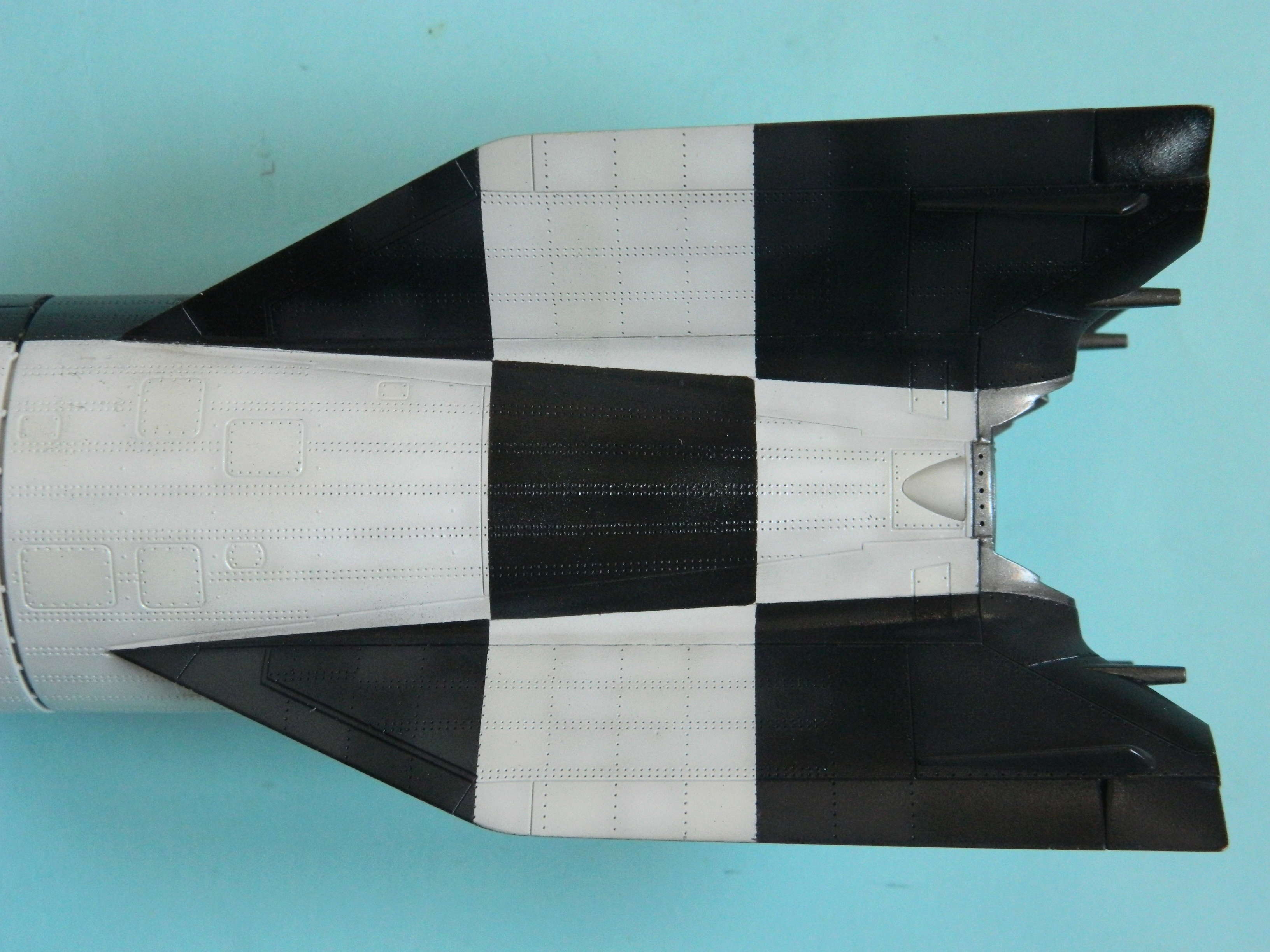 Vergeltungswaffe V-2 . A4.Fini, ou presque. 1812
