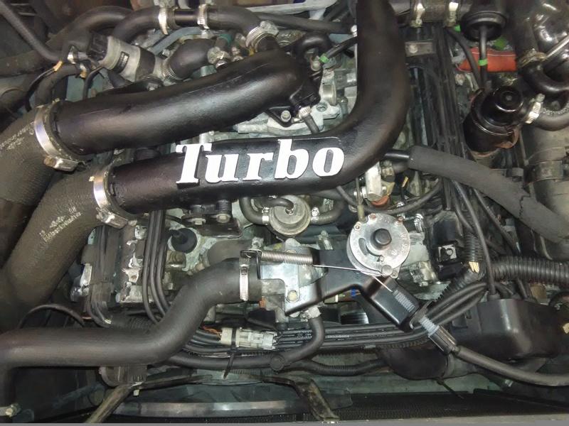 Petite astuce pour redonner une jeunesse aux conduites alu du turbo Apres10