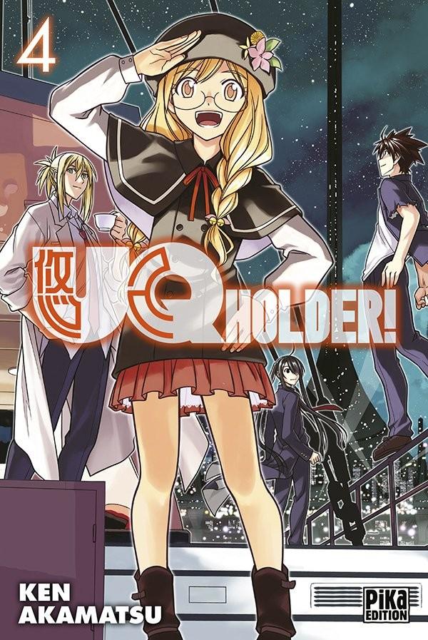 [MANGA/ANIME] UQ Holder! Couv_213