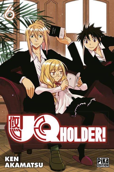 [MANGA/ANIME] UQ Holder! Couv_214