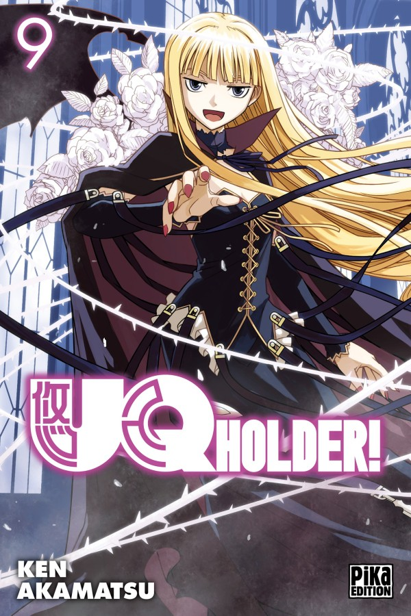 [MANGA/ANIME] UQ Holder! Couv_215