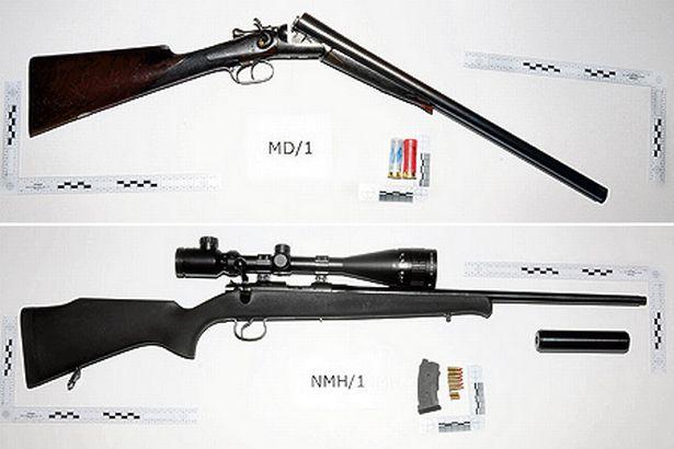 Photo's of mass murderer's weapons Derric10