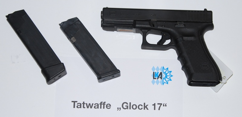Photo's of mass murderer's weapons Glock211