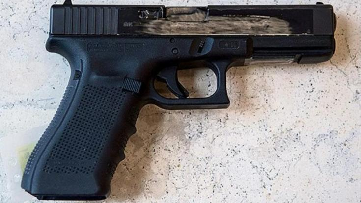 Photo's of mass murderer's weapons Glock311
