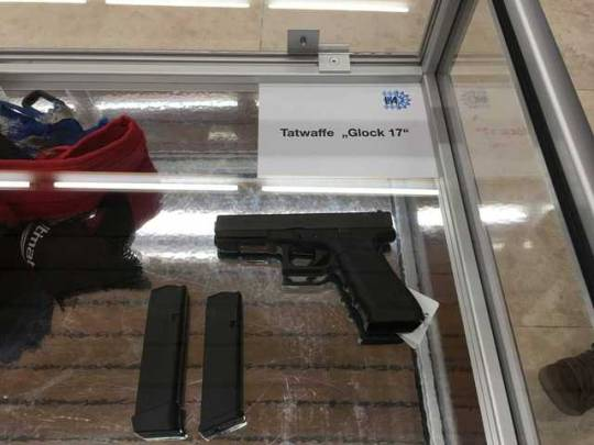 Photo's of mass murderer's weapons Gun211