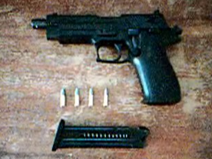 Photo's of mass murderer's weapons Pekkas11