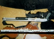 Photo's of mass murderer's weapons Shotgu11