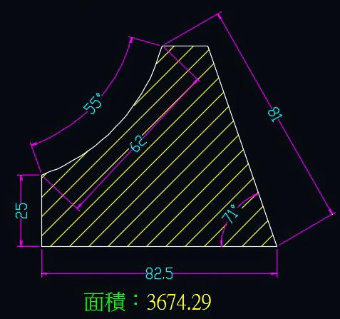 AutoCAD教學 幾何圖形習題04 0111