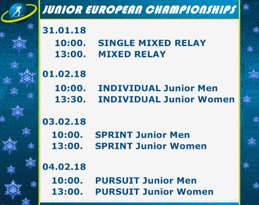 Junior Open European Championships Pokljuka/SLO 19366310