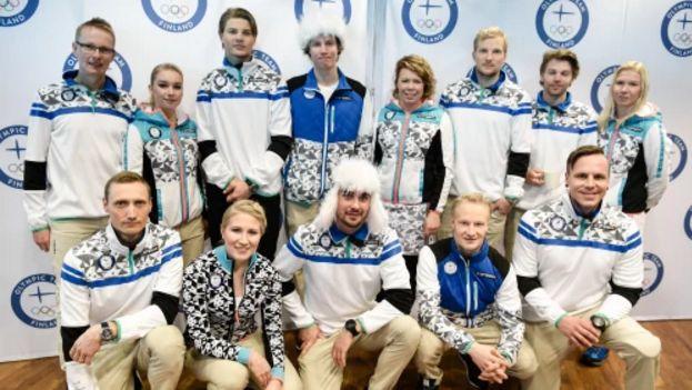 Олимпийские одежды / 올림픽 복 - Страница 9 Az110