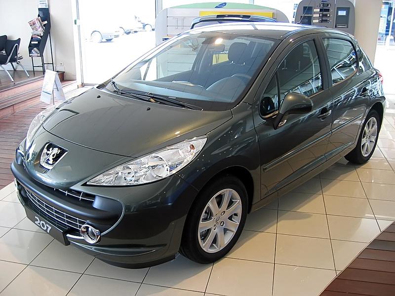 Fallas en la dirección eléctrica en Peugeot 207 Peugeo13