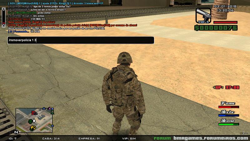 [ITP]Sr_King[E2], Uso indevido de comandos COP/ORG! Sa-mp-28