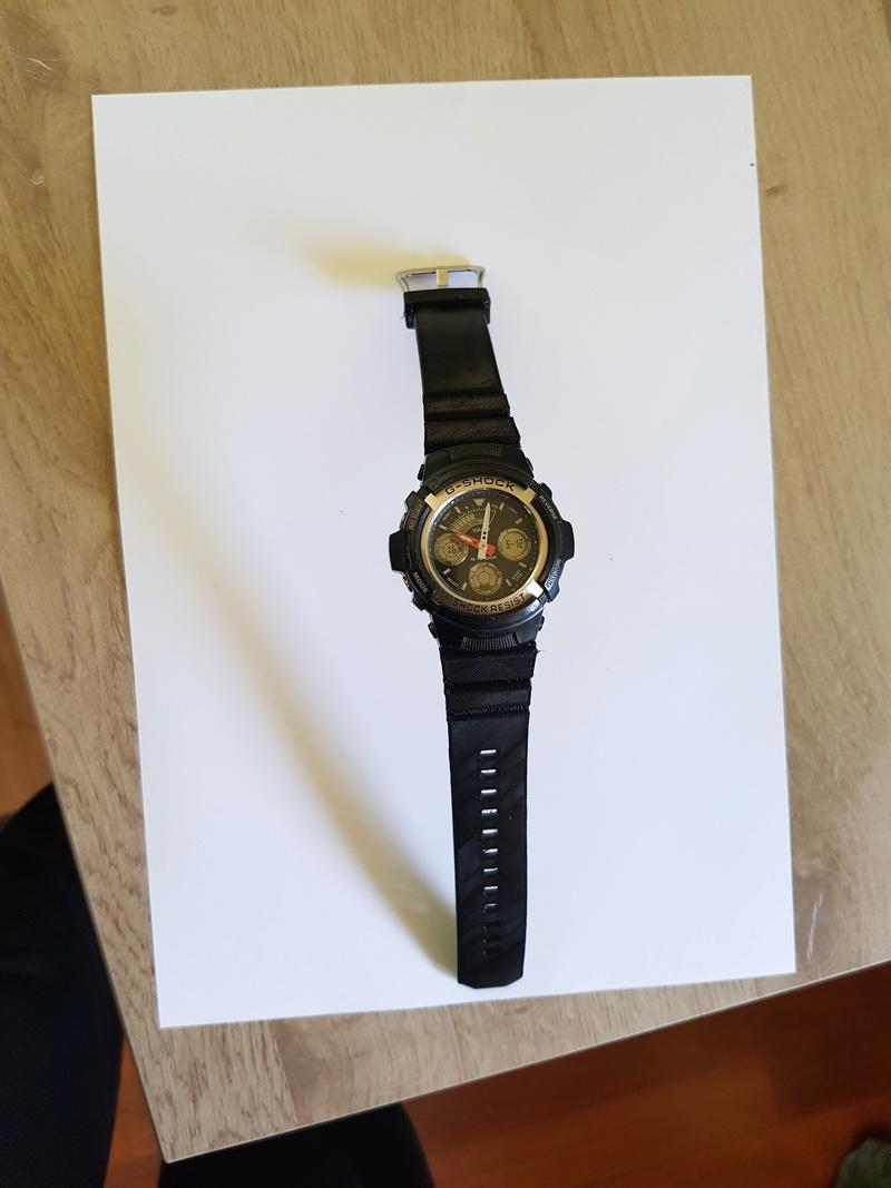 Bracelet complet et attache (flexibles) pour montre Casio G-Shock 20180513