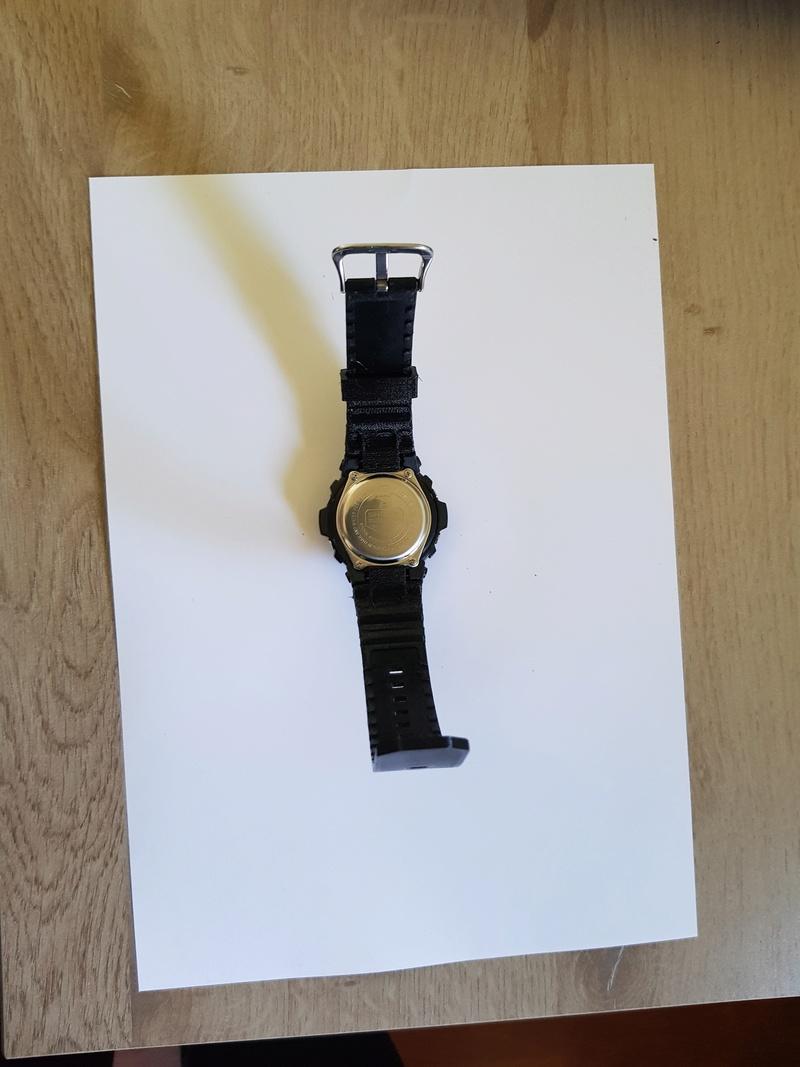 Bracelet complet et attache (flexibles) pour montre Casio G-Shock 20180515