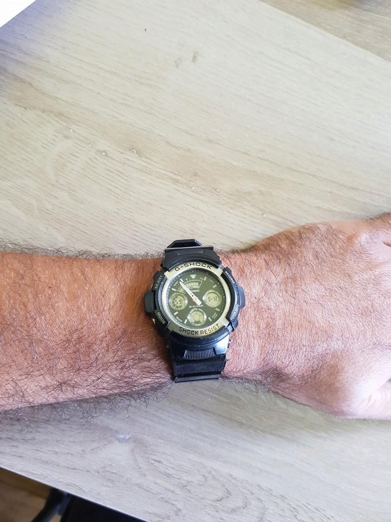 Bracelet complet et attache (flexibles) pour montre Casio G-Shock 20180517