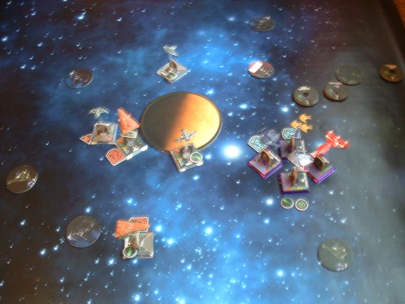 (130) Ort: Chintoka Verteidiger: Cardassianische Union, Angreifer: Bajoran Militia Dscf0088