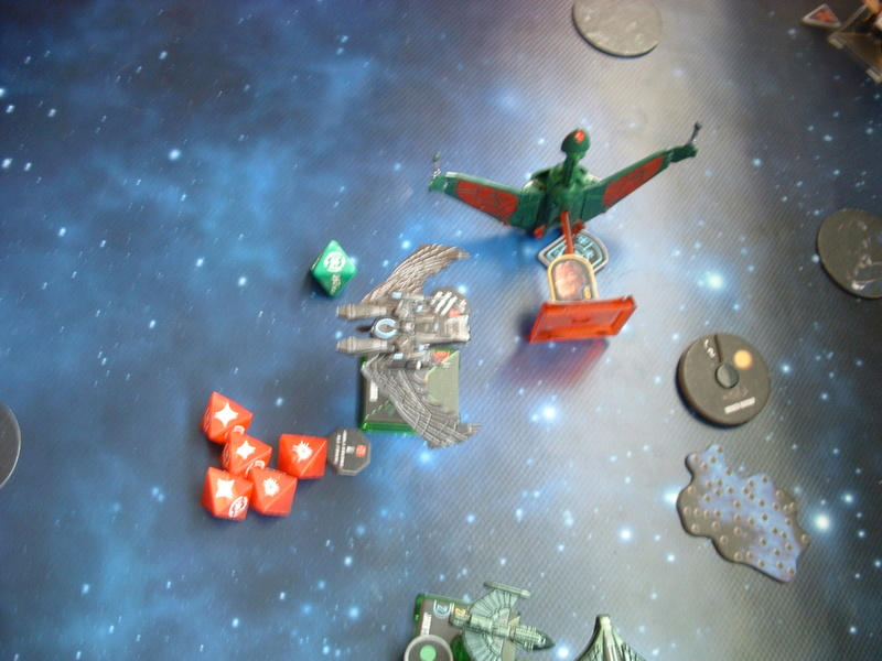 Promelia (160)  19 Tribes of Hirogen gegen Romulanerflotte Dscf0348