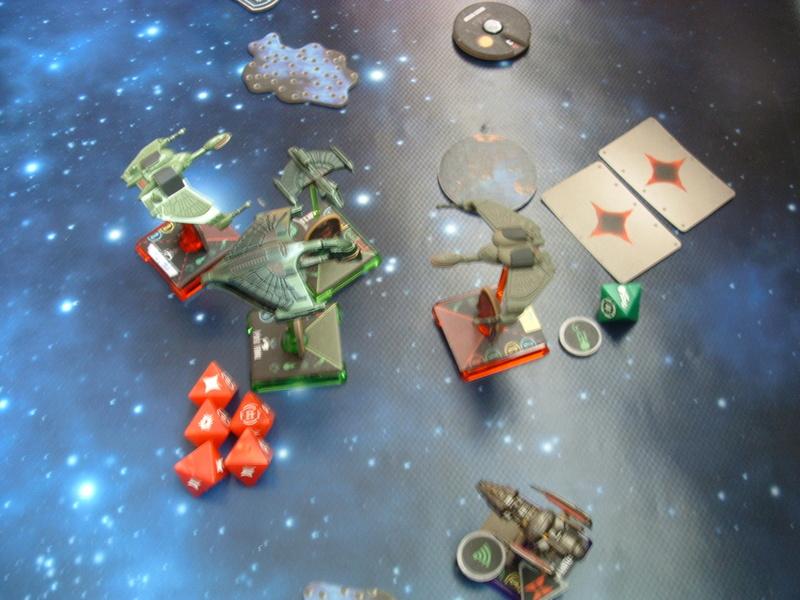 Promelia (160)  19 Tribes of Hirogen gegen Romulanerflotte Dscf0350