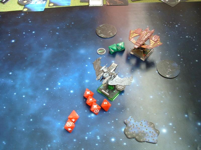 Promelia (160)  19 Tribes of Hirogen gegen Romulanerflotte Dscf0353