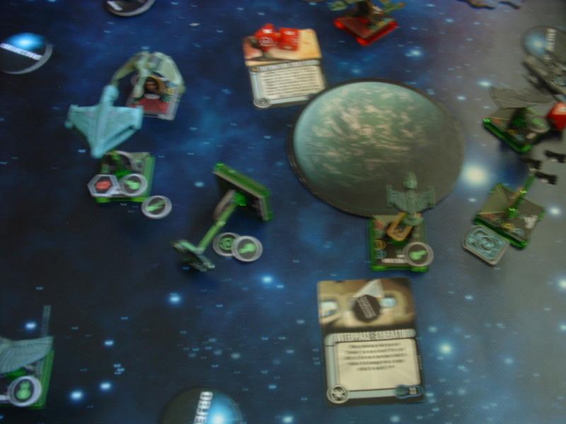 20180505 Spassspiel ohne Wertung 320 P Klingonen gegen Romulaner Dscf0630