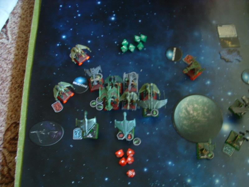 20180505 Spassspiel ohne Wertung 320 P Klingonen gegen Romulaner Dscf0631