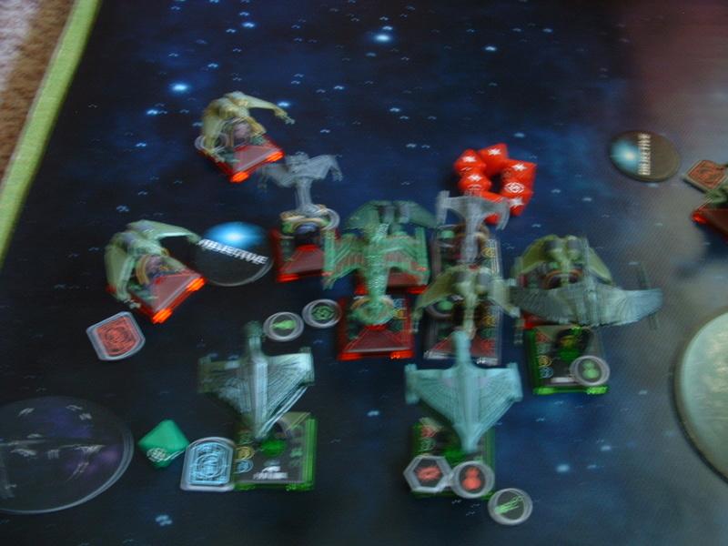 20180505 Spassspiel ohne Wertung 320 P Klingonen gegen Romulaner Dscf0632