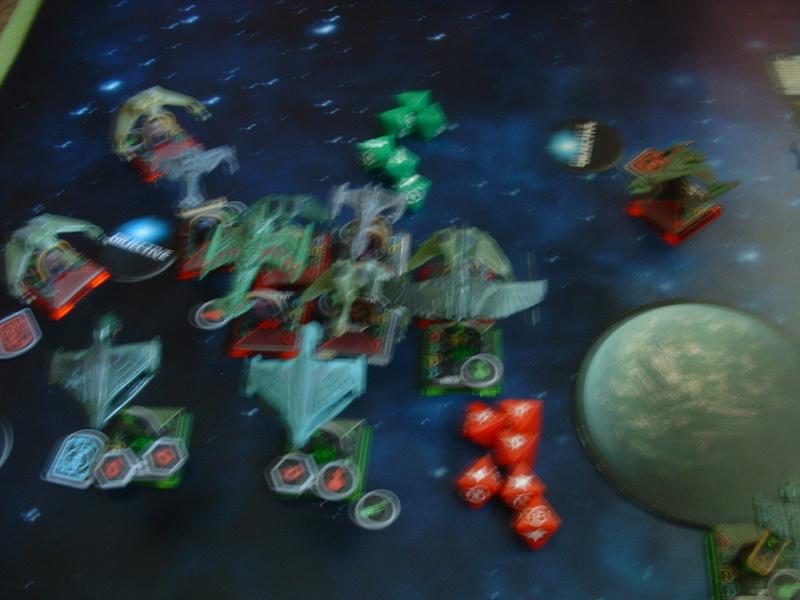 20180505 Spassspiel ohne Wertung 320 P Klingonen gegen Romulaner Dscf0634