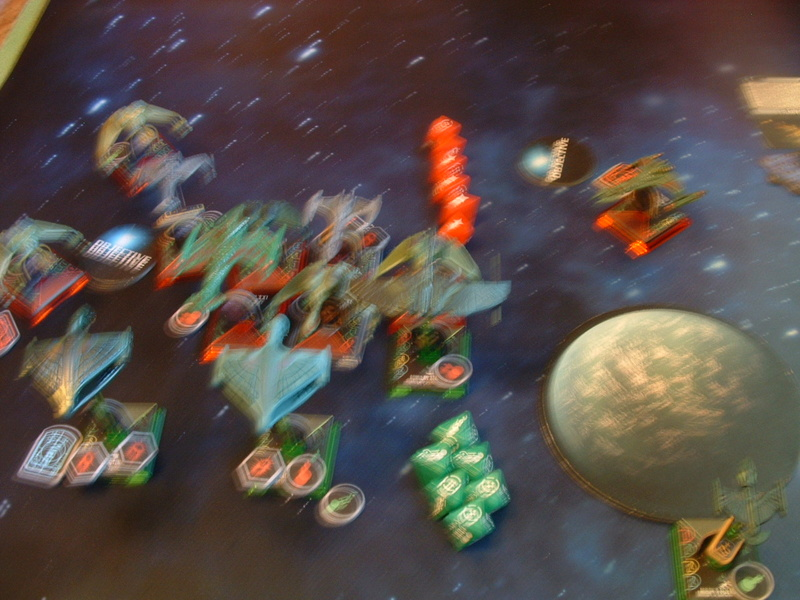 20180505 Spassspiel ohne Wertung 320 P Klingonen gegen Romulaner Dscf0635