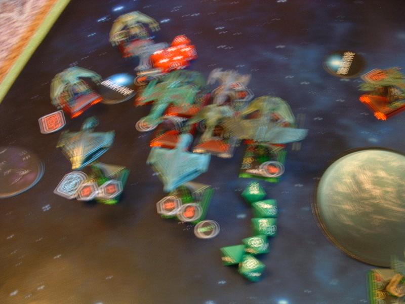 20180505 Spassspiel ohne Wertung 320 P Klingonen gegen Romulaner Dscf0636