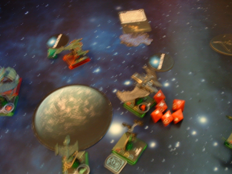 20180505 Spassspiel ohne Wertung 320 P Klingonen gegen Romulaner Dscf0639