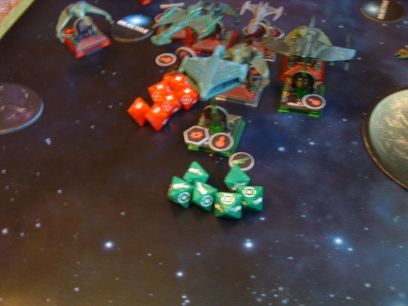 20180505 Spassspiel ohne Wertung 320 P Klingonen gegen Romulaner Dscf0643