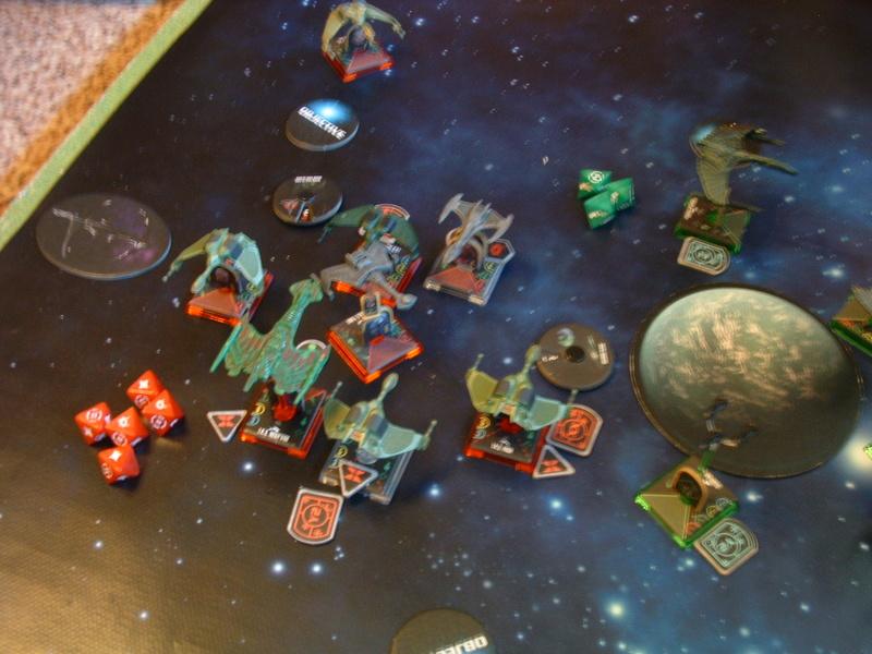 20180505 Spassspiel ohne Wertung 320 P Klingonen gegen Romulaner Dscf0647