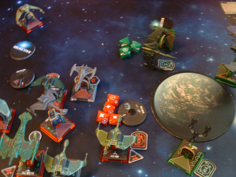 20180505 Spassspiel ohne Wertung 320 P Klingonen gegen Romulaner Dscf0649