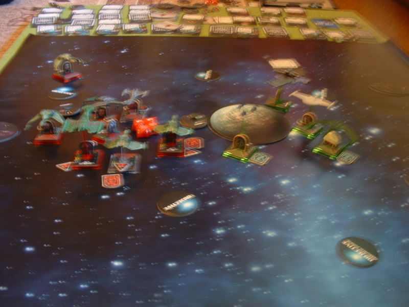 20180505 Spassspiel ohne Wertung 320 P Klingonen gegen Romulaner Dscf0651