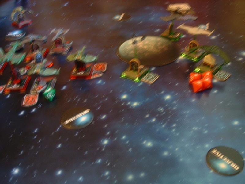 20180505 Spassspiel ohne Wertung 320 P Klingonen gegen Romulaner Dscf0652