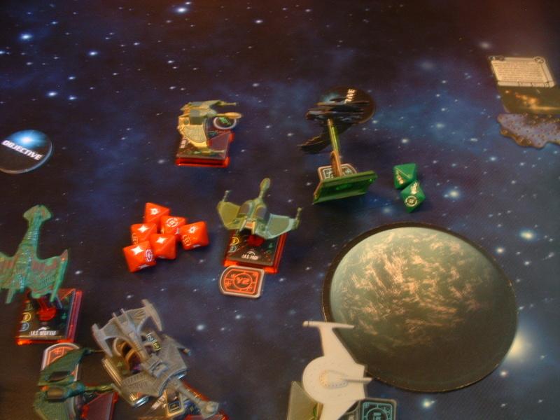 20180505 Spassspiel ohne Wertung 320 P Klingonen gegen Romulaner Dscf0653