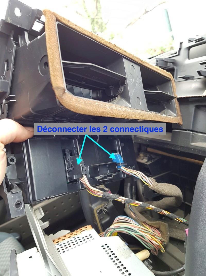 [TUTO][PHOTO] Démontage console centrale+Aérateur central 20180123