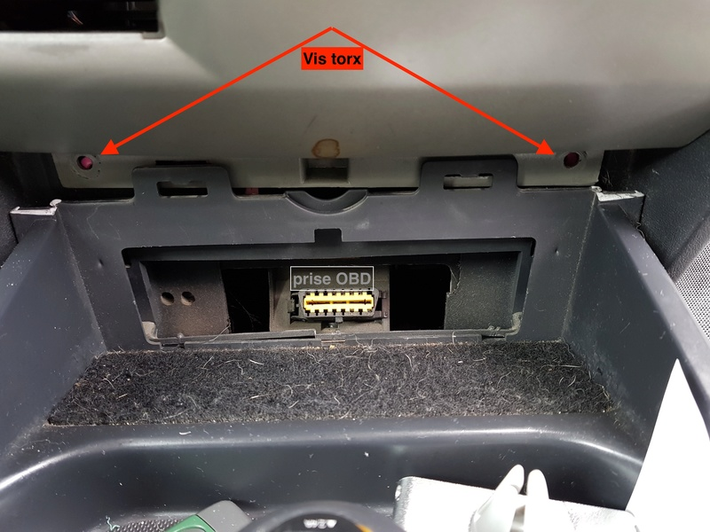 [TUTO][PHOTO] Démontage console centrale+Aérateur central Etape210