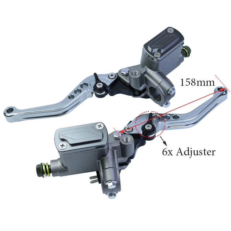 Leviers de freins compatibles QUADRO 4D Levier10