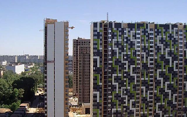 """На ЖК """"Летний сад"""" - начался монтаж фасадных конструкций! Теплозвукоизоляция под ними - лучше, чем у соседнего ЖК """"Город"""" - Страница 6 25_0510"""