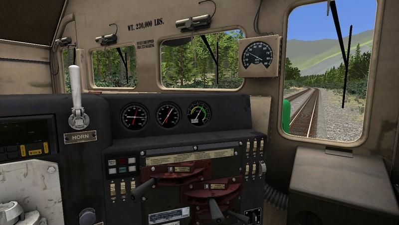 GP38-2 BN na Steven Pass Foto_319