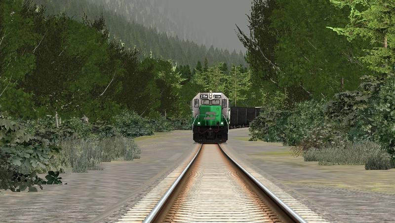 GP38-2 BN na Steven Pass Foto_618