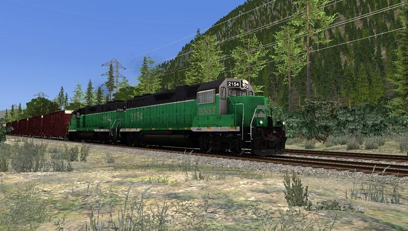 GP38-2 BN na Steven Pass Foto_810