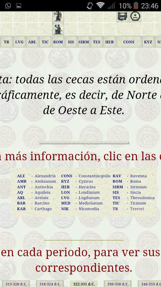 AE3 de Constantino II. PROVIDENTIAE CAESS. Trier Screen11