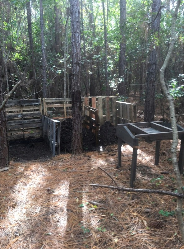 My new compost heap Ba4f7110